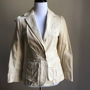 Marc by Marc Jacobs twill light beige jacket